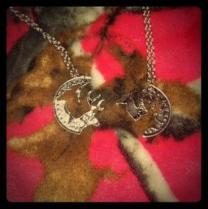Jewelry - 📷His and hers buck and doe necklace